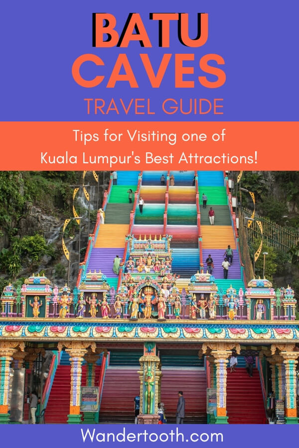 Heading to Kuala Lumpur? Don't miss the Batu Caves, one of Malaysia's top attractions. In this guide, we share top tips for visiting the Batu Caves, KL! #malaysia #kualalumpur #travelguide