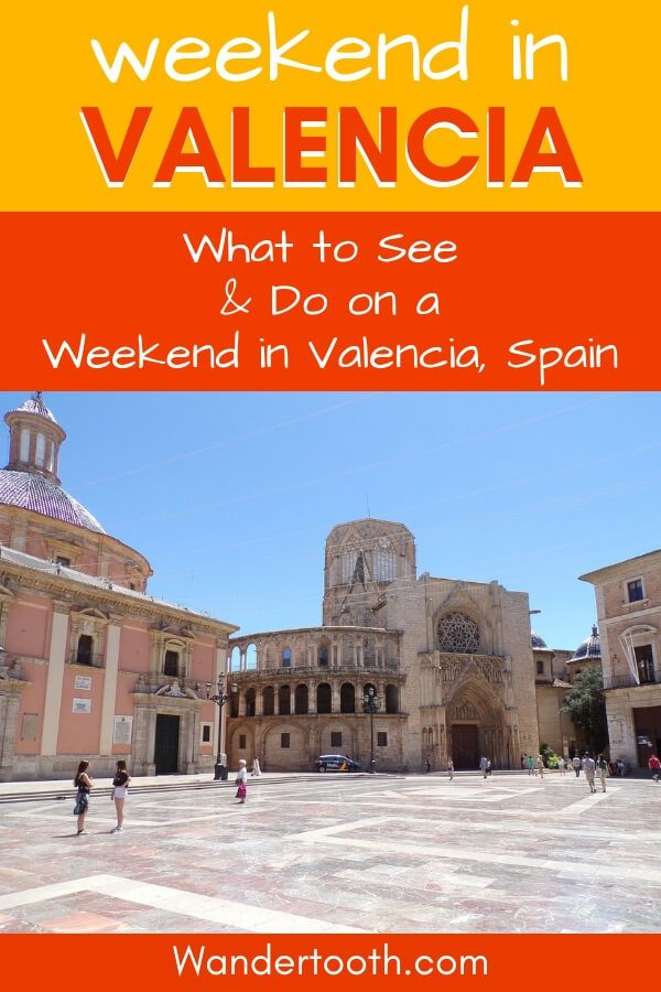 Heading to Valencia Spain? Check out this 3-day itinerary for spending the perfect weekend in Valencia! #valencia #citybreak #spain