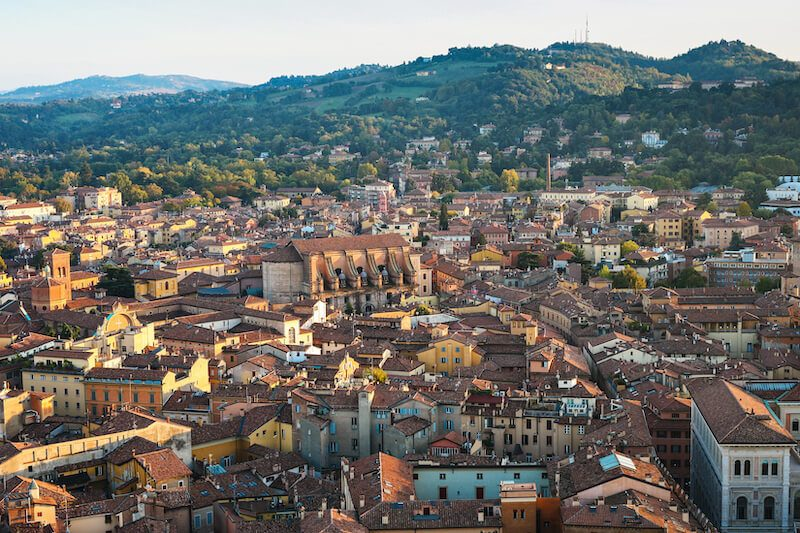 Bologna day trip from Florence Italy