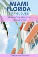 A guide to planning a Miami vacation