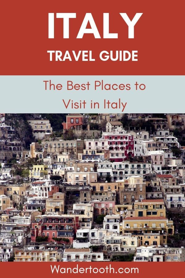 Best places to see in Italy