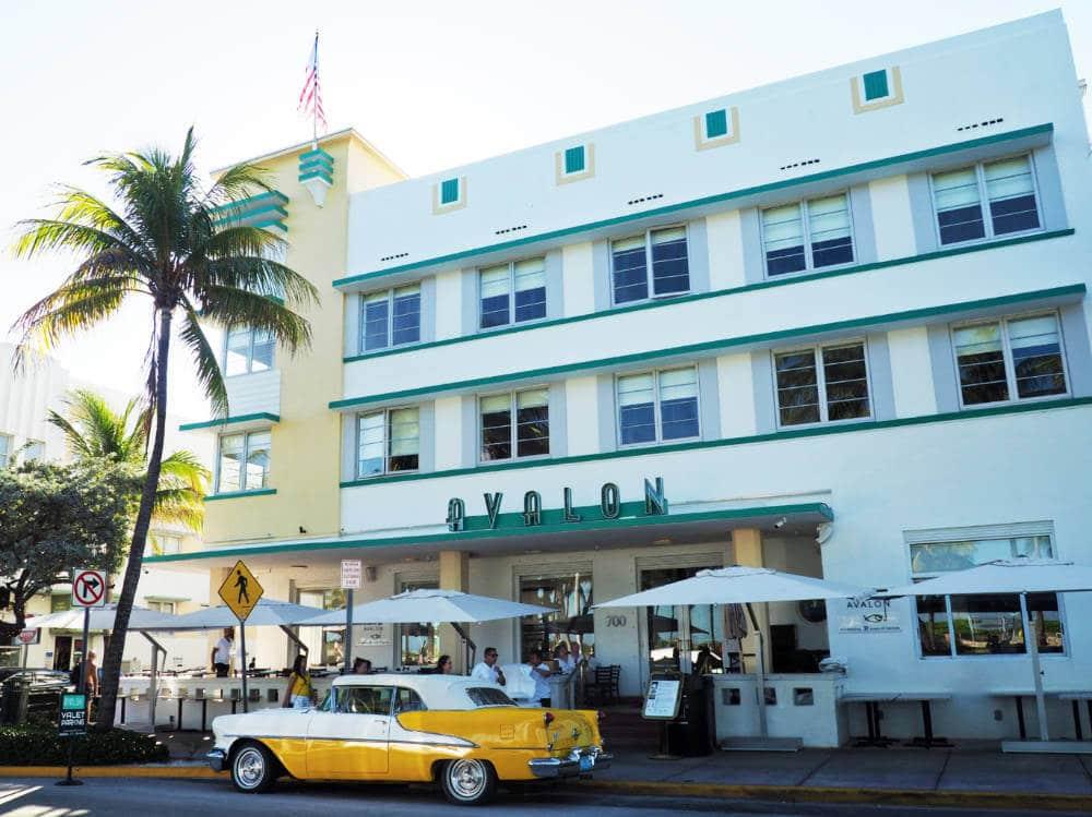 So many amazing examples of Art Deco Miami