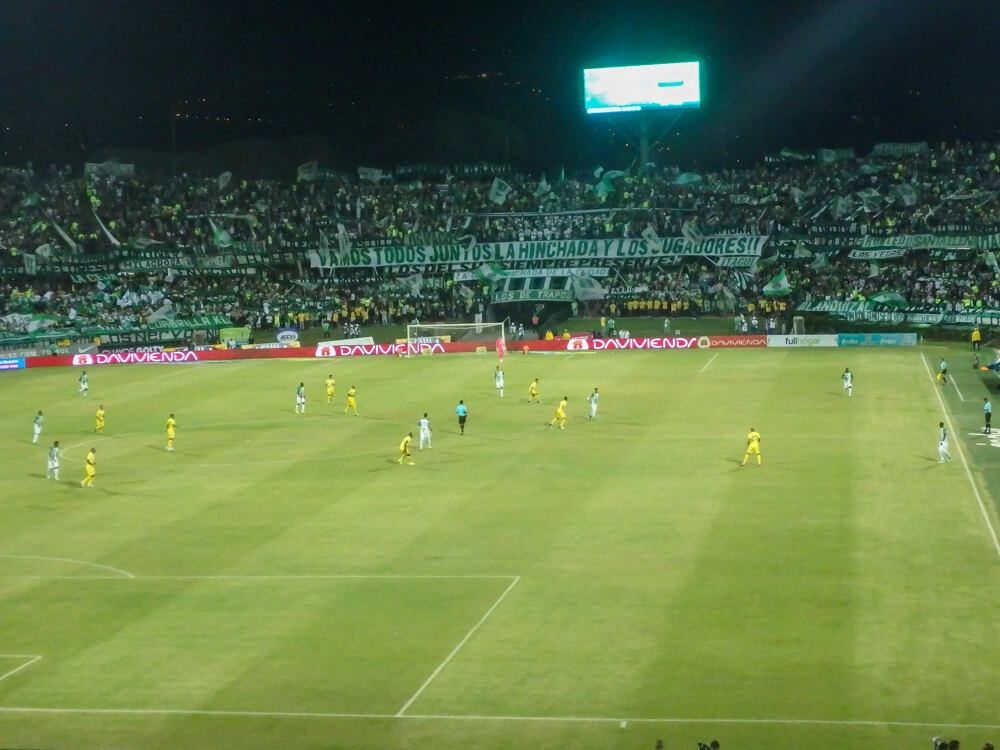 football game in medellin