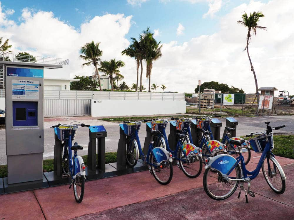 Rent a bike in Miami for your vacation