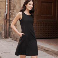 Trevi Dress Standard Fit - Pitch Black