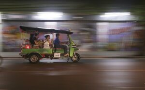 foodie tour of Beijing on tuk tuk