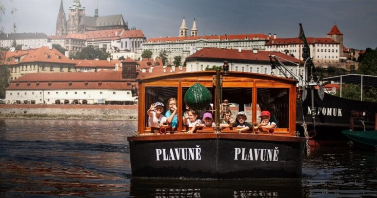 Take a Sightseeing Cruise on the Vltava River