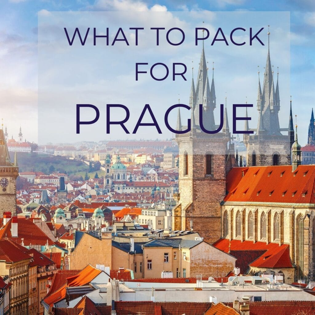 prague packing list
