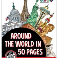 Color Around the World in 50 Pages