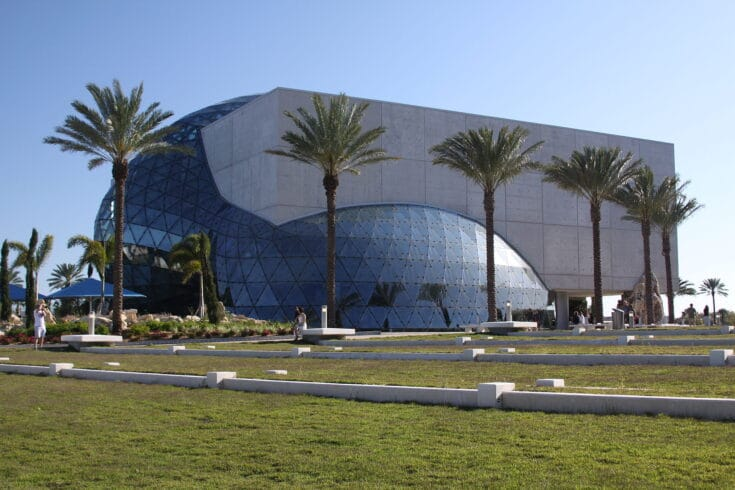 The Salvador Dali Museum in St. Petersburg, Florida