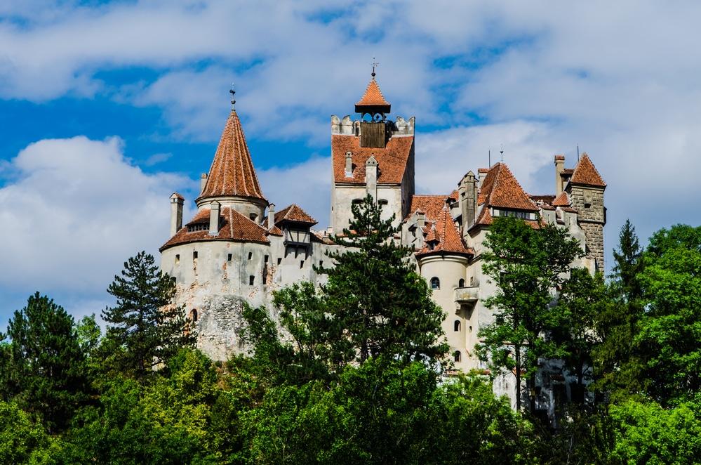 Medieval castle, Bran - Romania, Transilvania, known as Dracula's Castle