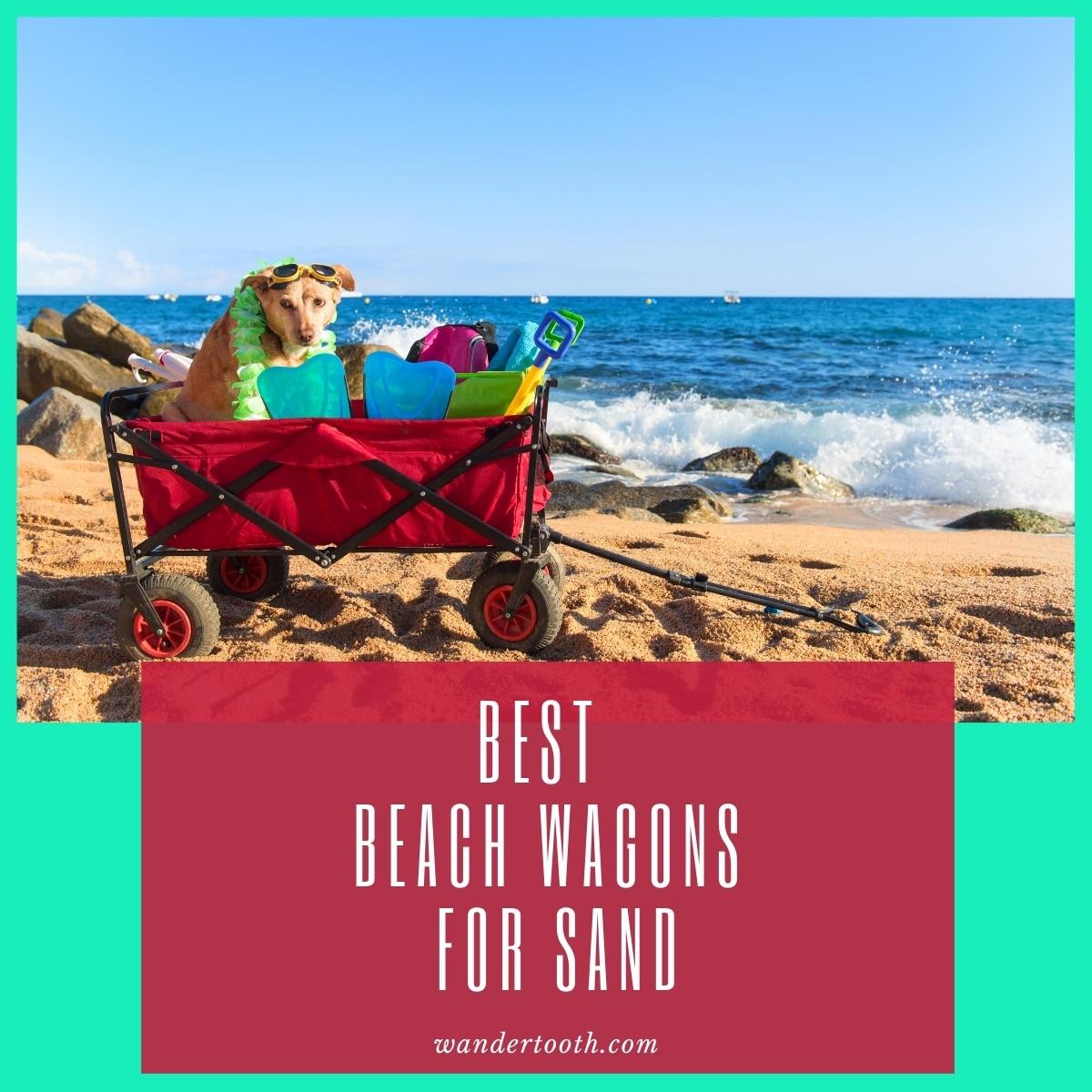 best beach cart for sand