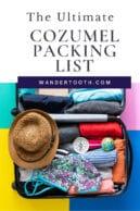 Cozumel packing list