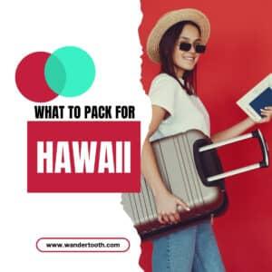 hawaii packing list