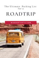 what to pack for road trip